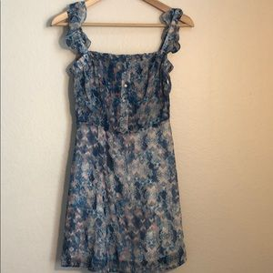 Anthro Paper Crane Dress